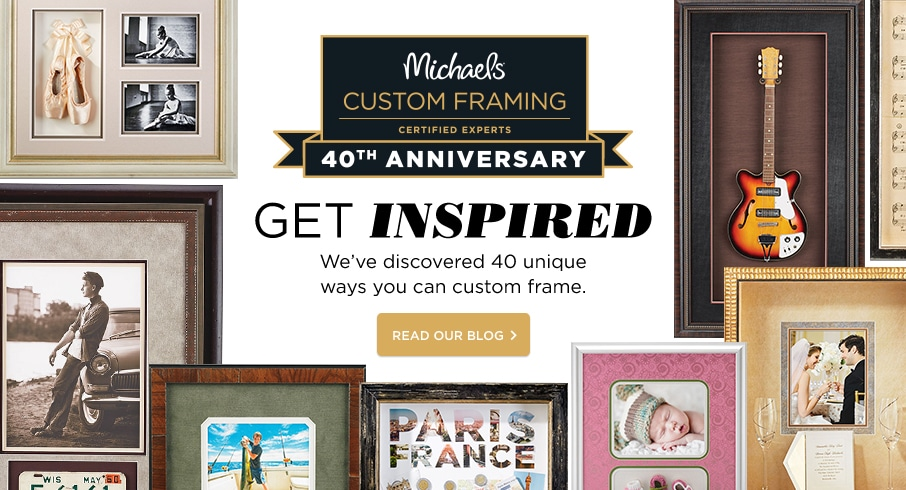 my custom frame story custom framing michaels s