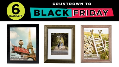 Countdown to Black Friday - 6 Days Left