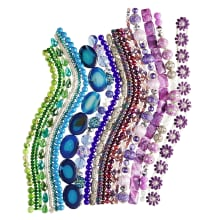 40% Red Label Strung Beads by Bead Gallery