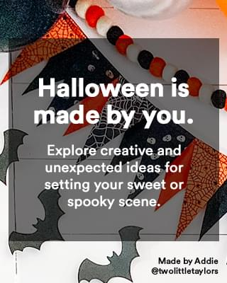 Explore creative and unexpected ideas for setting your sweet or spooky scene.
