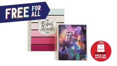 Buy 1, Get 2 FREE Spiral Planners by Recollections®. Buy Online Pick Up In-Store