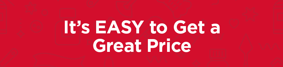 It's Easy to get a great price