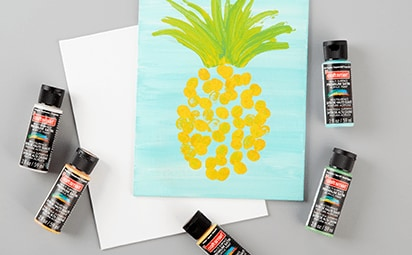 Featured Project. Fingerprint Pineapple
