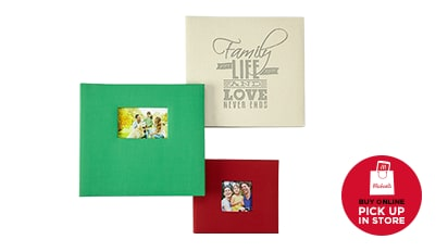 Buy One Get One Free Scrapbook & Photo Albums. Buy Online Pick Up In-Store