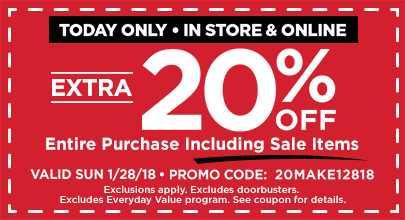 20 off entire purchase - Michaels Framing Coupon