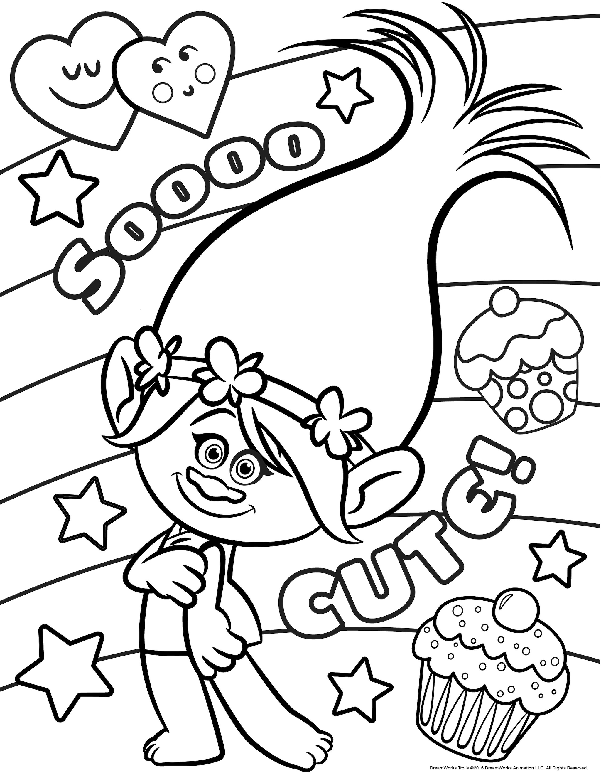 This is a graphic of Old Fashioned Troll Coloring Pages To Print
