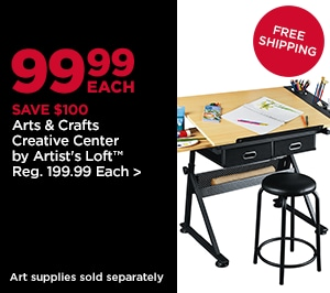 99.99 Each Arts & Crafts Creative Center by Artist's Loft