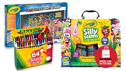30% OFF ALL Crayola. Buy Online Pick Up In-Store