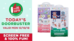 $4 EACH Shrink This!™ Art Kits. Reg. $7 Each. Today's Doorbuster Valid 12/10/18 - Top 25 Gifts Countdown to Christmas