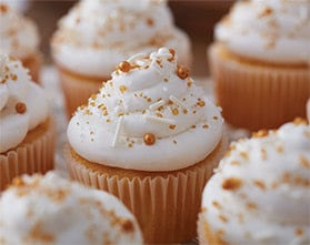 The Gold Standard Cupcakes