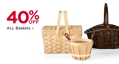 40% OFF ALL Baskets