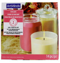 Light up their holidays with homemade candles!