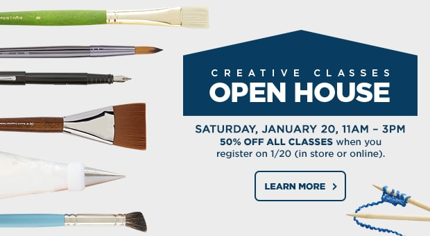 Creative Classes Open Houses