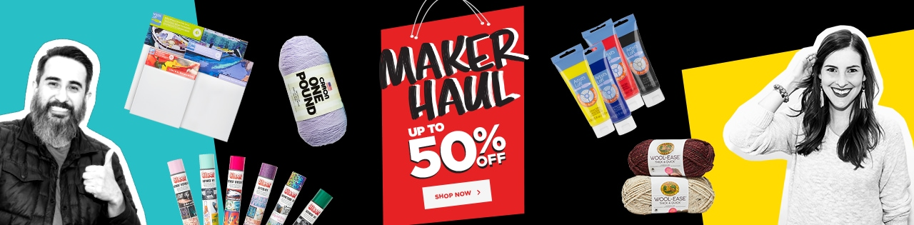 Maker Haul  Up to 50% OFF