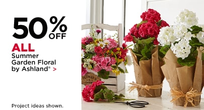 40% Off All Summer Garden Floral by Ashland