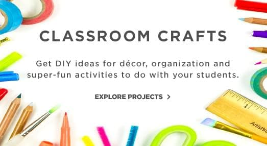 Classroom Crafts. Get DIY ideas for decor and super fun activities to do with your students