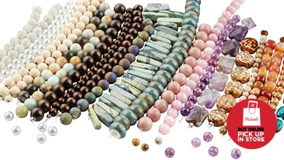 $3 Each Green Label Strung Beads. Over 900 Styles. Buy Online Pick Up In-Store