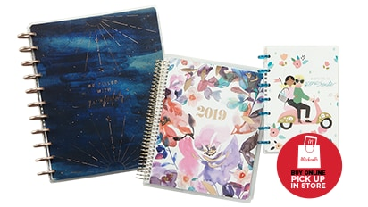 50% OFF 2019 Planners by Recollections® & The Happy Planner®. Buy Online Pick Up In-Store