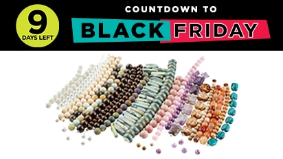 70% OFF ALL Strung Beads. Countdown to Black Friday - 9 Days Left