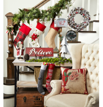 Save up to 50% on Holiday Décor & Lighting