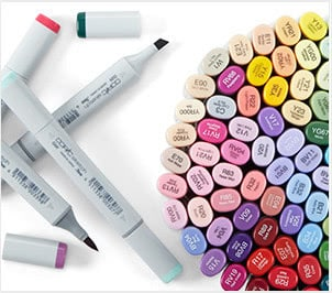 Copic® Markers & Pens