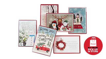 Doorbuster! 50% OFF ALL Christmas Boxed Cards. Reg. $8 - $15. Buy Online Pick Up In-Store