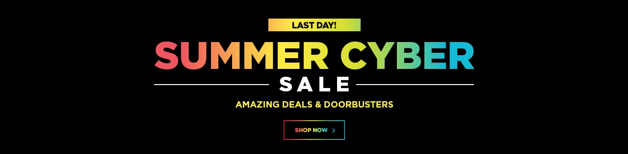 3 Day Event Summer Cyber Sale! LAST DAY!