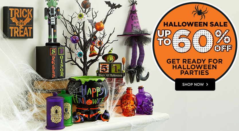 Halloween Sale – Up to 60% Off