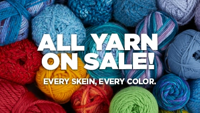 BUY 2, GET 1 FREE ALL Yarn