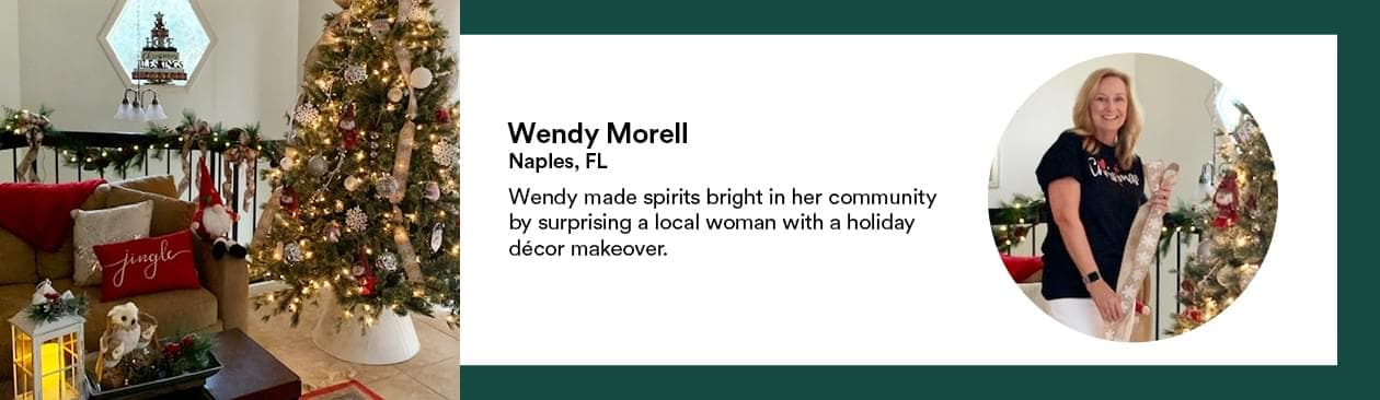Profile of Wendy Morell