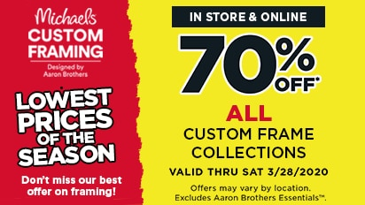 70% OFF All Custom Frame Collection