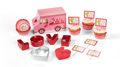 30% OFF ALL Valentine's Day Baking & Decorating Supplies
