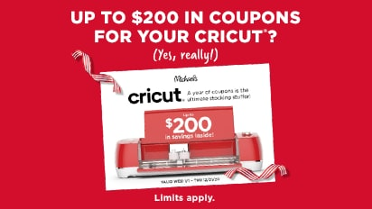 Cricut Coupon Book