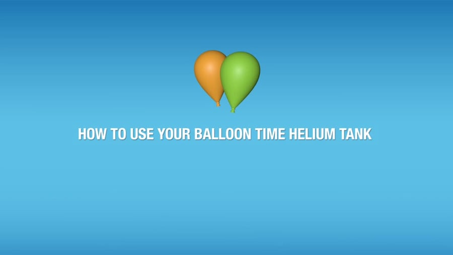 BalloonTime®: How to Use Your Helium Tank