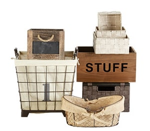 Baskets, Boxes & Bins