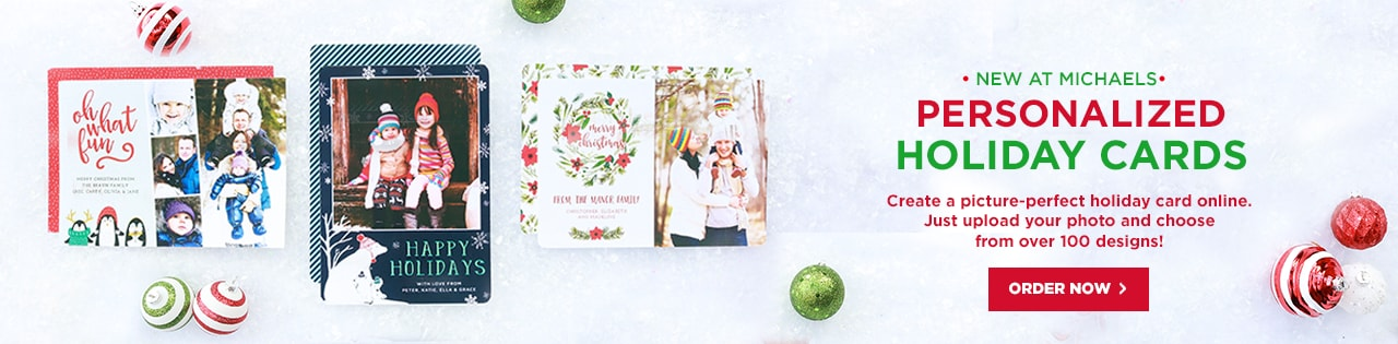 Michaels stores art supplies crafts framing personalized christmas cards mightylinksfo