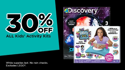 30% OFF Kids' Activity Kits