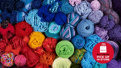 Buy Two Get One Free ALL YARN ON SALE! Every Skein. Every Color. Buy Online Pick Up In-Store