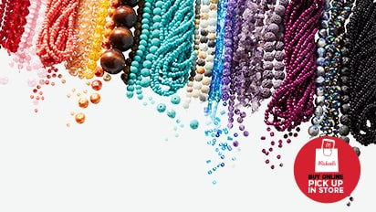Over 1,700 Styles! 50% OFF ALL Strung Beads. Buy Online Pick Up In-Store