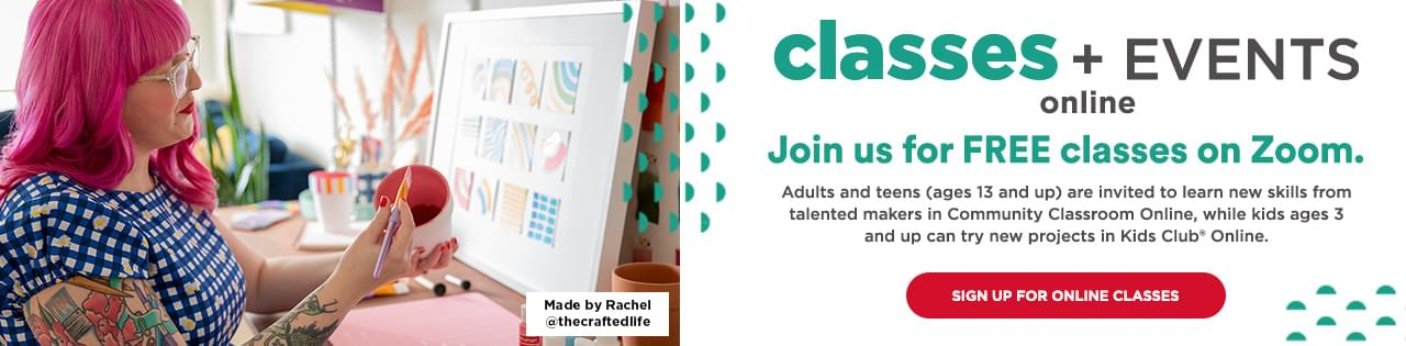 Local Arts Craft Classes For Kids And Adults Michaels