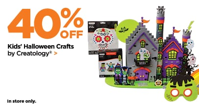 40% Off Halloween Kids Crafts