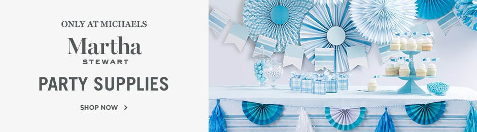 Martha Stewart Party Supplies - Only at Michaels