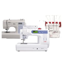 All sewing, quilting & embroidery machines now on sale!