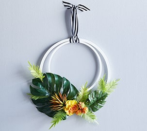 Summer Hoop Wreath