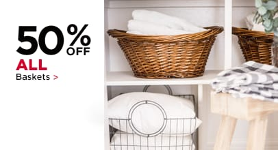 50% Off All Baskets
