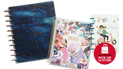 40% OFF 2019 Planners by Recollections® & The Happy Planner®. Buy Online Pick Up In-Store