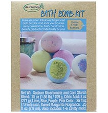 NEW! Make your own bath bombs & soak your troubles away with this $19.99 kit!