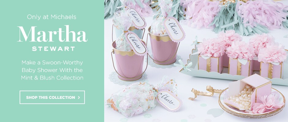 Make a Swoon-WOrthy Baby Shower With the Mint & Blush Collection!