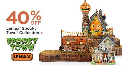40% OFF Lemax Spooky Town Collection