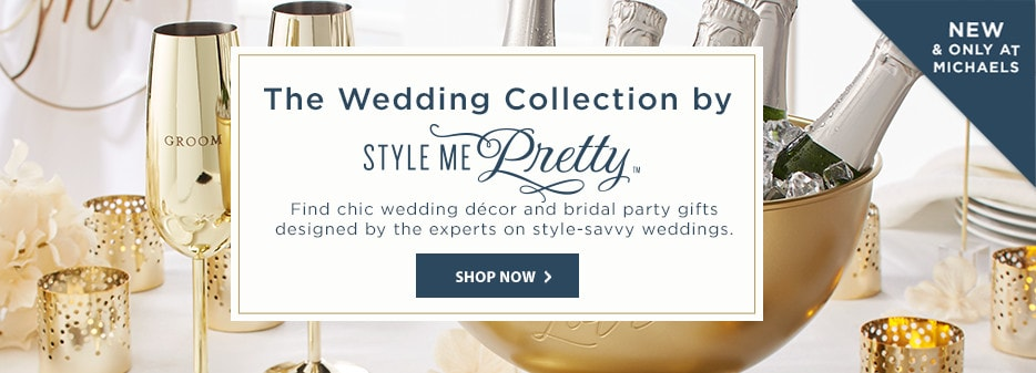 The Wedding Collection by Style Me Pretty.